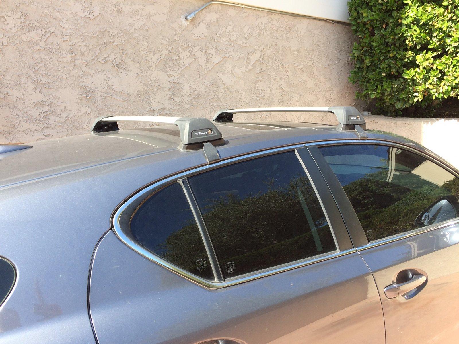 Yakima Whispbar Roof Rack For Lexus Ct200h Imtbtrails