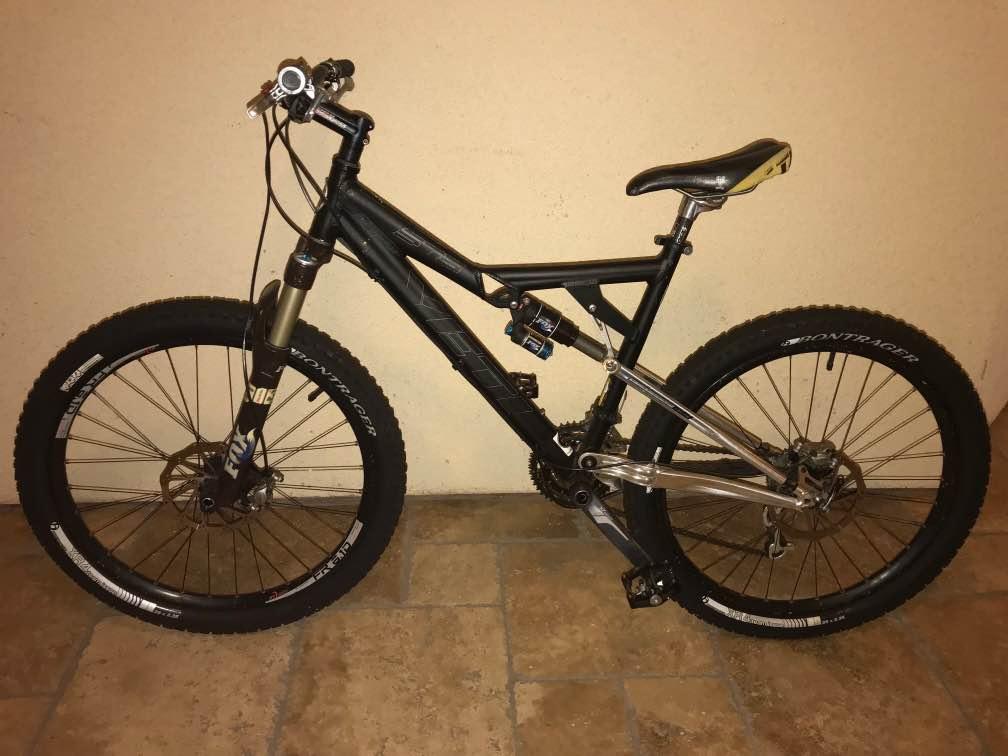 Stolen YETI 575 & Specialized Hardrock bikes...Help? Advice ...